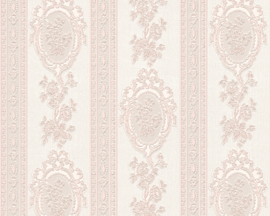 Bloemen Behang rose creme Metallics glitter 18616-4