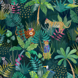 jungle behang tropical dieren  907604