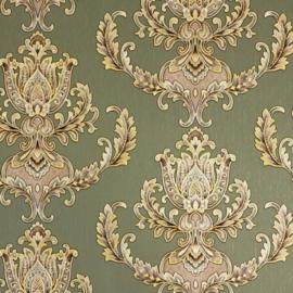 Hermitage behang ornamenten Metallic 33546-4