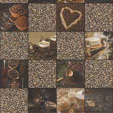 koffie behang keuken 221442