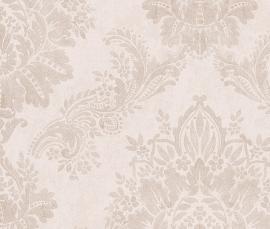 barok creme glim glans behang rasch 204803