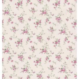 Engelse bloemen dollhouse bloemen behang 22100