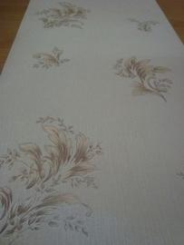 bruin beige glitter behang 69