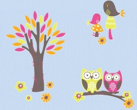 AS Creation Esprit Kids 3 dierenbos behang 94115-3