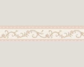 beige ecru engelse band behangrand rand  0021