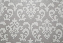 barok behang glitter grijs zilver 51005-41 palitra