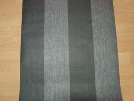 streepjes behang zwart zilver  81