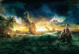 fotowand Pirates of the Caribbean 1-408