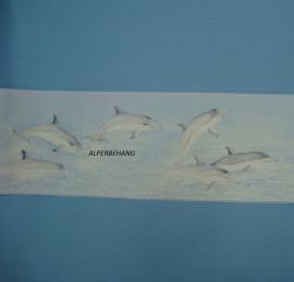 effe blauw behang 0056