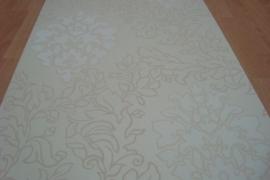 creme barok vinyl behang 32