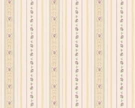 kleine roosjes bloemetjes behang romanze as creation 85015-7