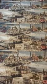 Istanbul behang steden gebouwen huizen monumenten brug
