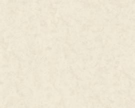 Uni behang grijs creme 34373-6
