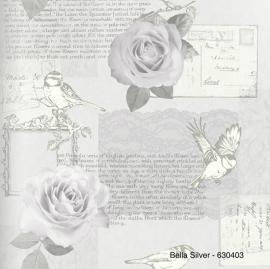 BELLA SILVER BEHANG - Arthouse Options 630403