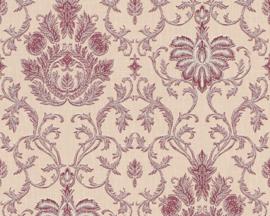 Rood glitter behang 33904-1