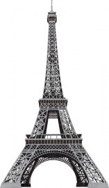 York Girl Power II Eiffel Tower stickers RMK1576GMPW