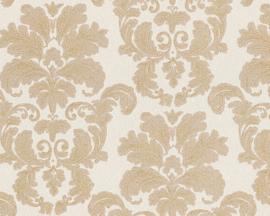 Barok behang beige 95937-5