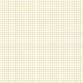 Esta Giggle 137018 beige wit ruiten behang