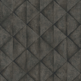 Industrieel behang grijs 37742-5