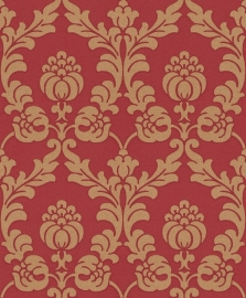 Gentle Elegance behang barok rood 725858