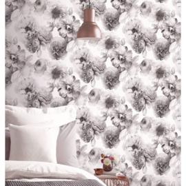 Bloemen Glitter Behang  Arthouse xxxx4