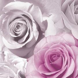 bloemen rozen behang 119505