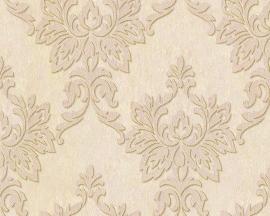 barok behang zalm creme goud 954754