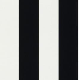 strepen zwart wit behang dh15