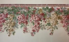 Engelse bloemen behangrand breed gechulpt xt1