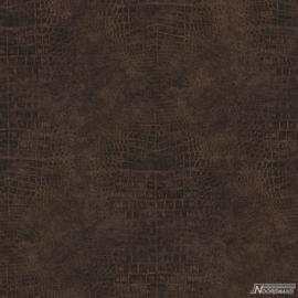 Noordwand Natural FX bruin behang G67500 Krokodillenhuid