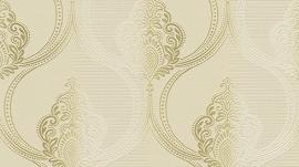 barok behang Erismann Serail beige goud 6803-02