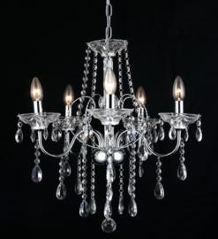 kroonluchter klassiek diamant hanglamp ghrome 5160-5