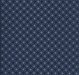 blauw retro behang vlıes 701753