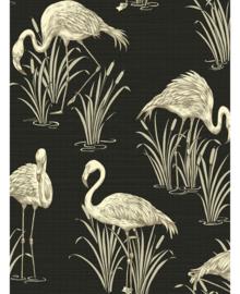 Flamingo behang vintage lagoon arthouse 252600