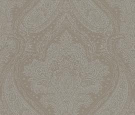 barok grijs behang rasch 208610