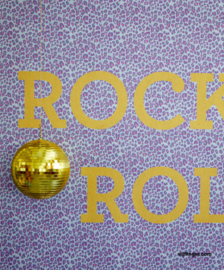 Eijffinger Rice 2 Wallpower 383602 Leopard Rocks Blue