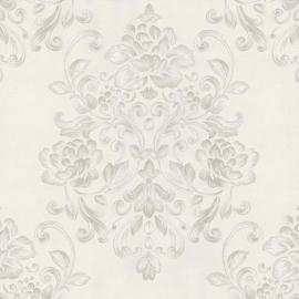 02273-40 grijs creme modern barok behang