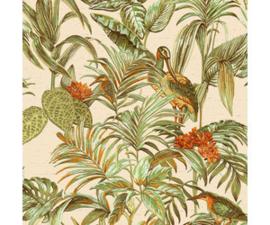 Vogel Behang  exotic Wallstitch De120013