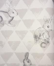 konijnen behang OZ 3269