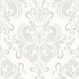 Grijs barok behang 785-01