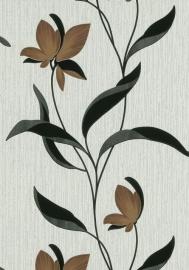 glitter bloemen behang Erismann 9730-11