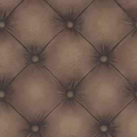 Chesterfield 3d behang 2604-21232 Tufted Leather