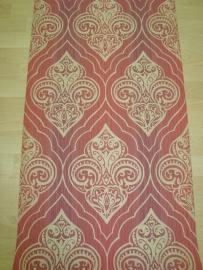 rood goud barok behang vintage 279261