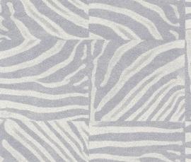 Rasch Popskin behang 498530 Zebra dierenprint
