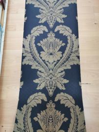 zwart goud barok behang  x6x7