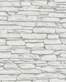 steen behang 3d grijs  6721-20