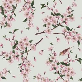 vogel bloemen tafelzeil tafelkleed  ptx07
