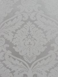 Barok wit behang vlies 203