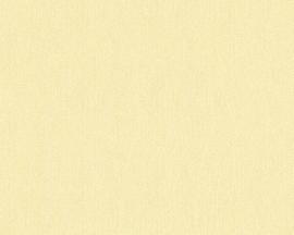 943074 geel modern effen behang
