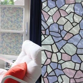 raamfolie zelfklevend glasenlood xx54